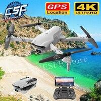 2021 nuovo F10 Drone 4K HD Dual Camera Band GPS 5G WIFI FPV Drones pieghevole Quadcopter professione Dron RC elicottero giocattoli per ragazzo