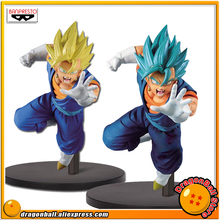 "Japan Anime ""Dragon Ball Super"" Original Banpresto Chousenshi Retsuden Collection Figure   SUPER SAIYAN VEGITO Vegetto"