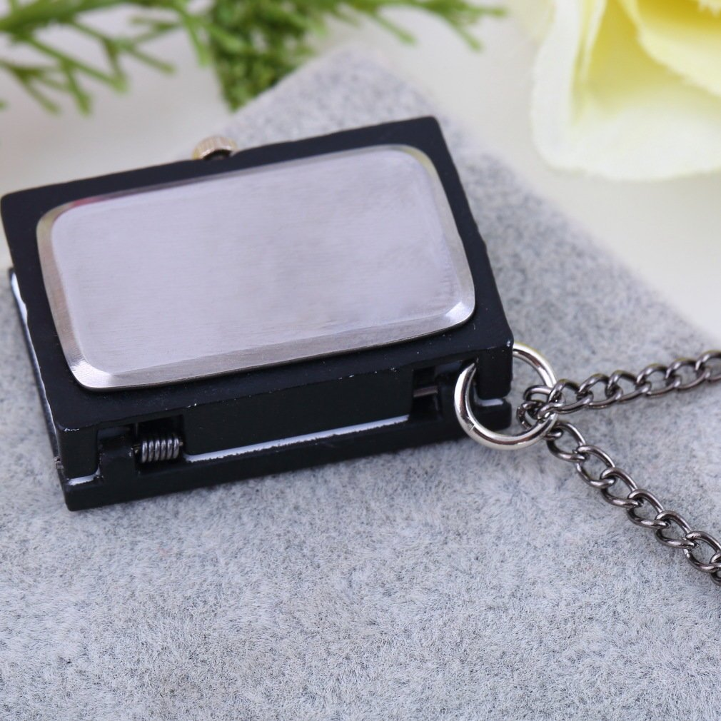 1PC Unique Death Note Book Quartz Pocket Watch Pendant Necklace Vintage Gift Relogio Masculino Women Men's Fashion Watch