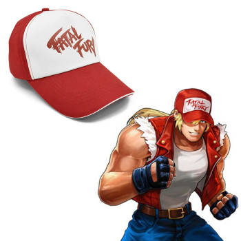 CLIMATE Terry Bogard Cap FURY FATAL Hat The King of Fighters Trucker Cosplay Coser Cotton Caps for Men - discount item  31% OFF Hats & Caps