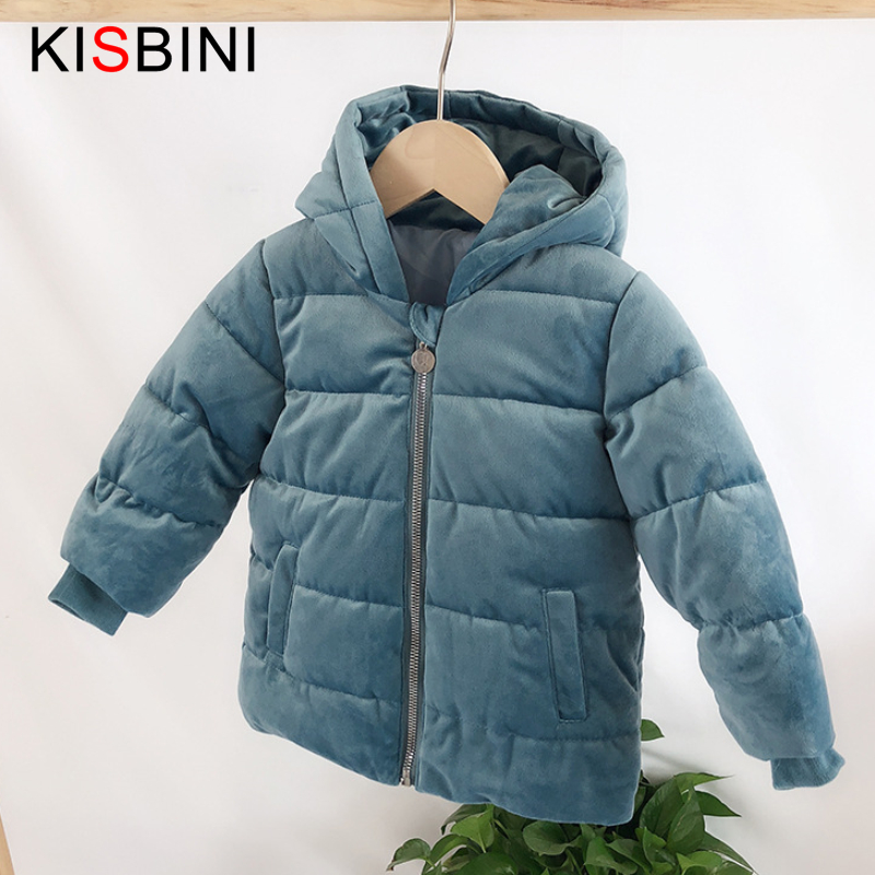 Winter Teen Kids Boys Hooded Puffer Coat Jacket Outwear Overcoat For 6-17 Year