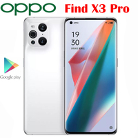 New Original OPPO Find X3 Pro 5G Cell Phone 12G RAM 256G ROM 6.7inch Snapdragon 888 65W SuperVOOC 30W Air VOOC 50.0MP Camera NFC 2