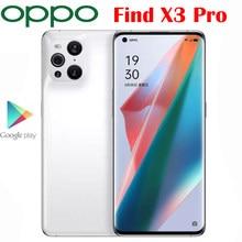 Resmi yeni orijinal OPPO X3 Pro 5G cep telefonu 6.7 inç AMOLED Snapdragon 888 65W SuperVOOC 30W hava VOOC opfo NFC 50.0MP kamera