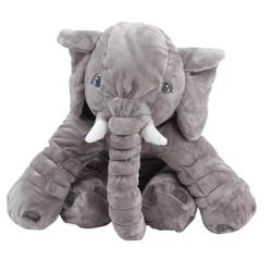 Большой плюшевый слон игрушка мягкая детская подушка слон кукла Спящая задняя Подушка постельные принадлежности подарок на день рождения ...