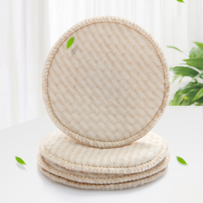 4pcs/bag Mommy Nursing Pad Washable Breast Pads Spill Prevention Breast Feeding 67JC