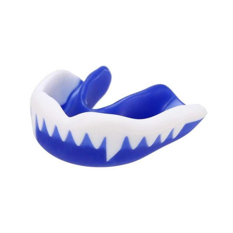 Brace di Protezione Per Il Basket Boxe Sanda Taekwondomultisport usare la bocca guardie sport bretelle Sport Boxing mouth Guard Denti