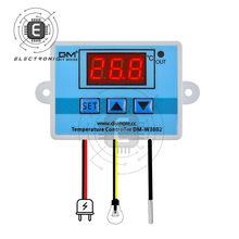 W3002 controle digital temperatura interruptor do termostato do microcomputador termômetro novo termorregulador 12/24/220v