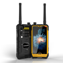 CONQUEST S1 IP68 Walkie Talkie Rugged Phone 1D 2D Bar/QR Code Scanner/RFID/NFC/OTG/IoT Intelligent Handheld Shockproof cellphone