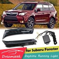 LED DRL Day Light for Subaru Forester 2013 2014 2015 Daytime Running Light Fog Lamp