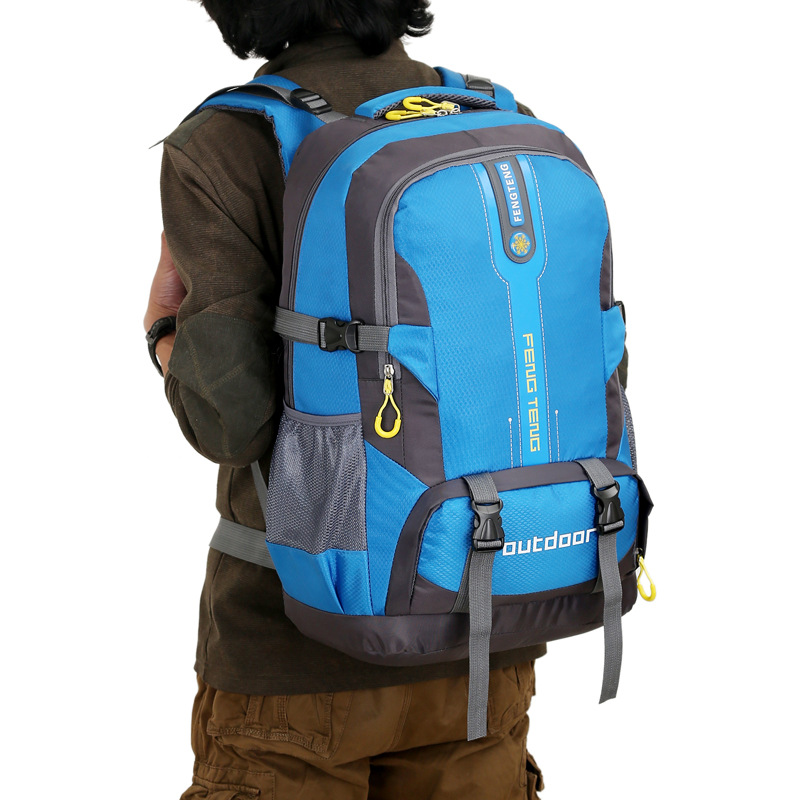 Summer Outdoor Sports New Style Couples Backpack Mountaineering Bag 50L Men And Women Riding Sports Travel Mountaineering Bag