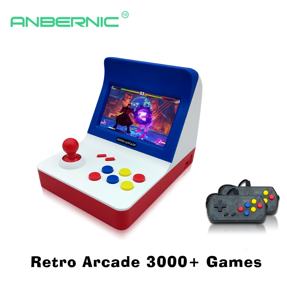 Portable Retro Mini Games Console 64Bit Retro Video Game Console Built In 3000 Games Handheld Game Player Best Gift RETRO ARCADE-in Handheld Game Players from Consumer Electronics