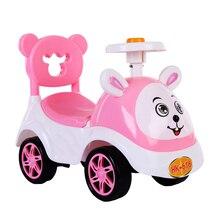 Детский скутер игрушка автомобиль качество детей Раннее Обучение баланс способность охраны окружающей среды PP материал