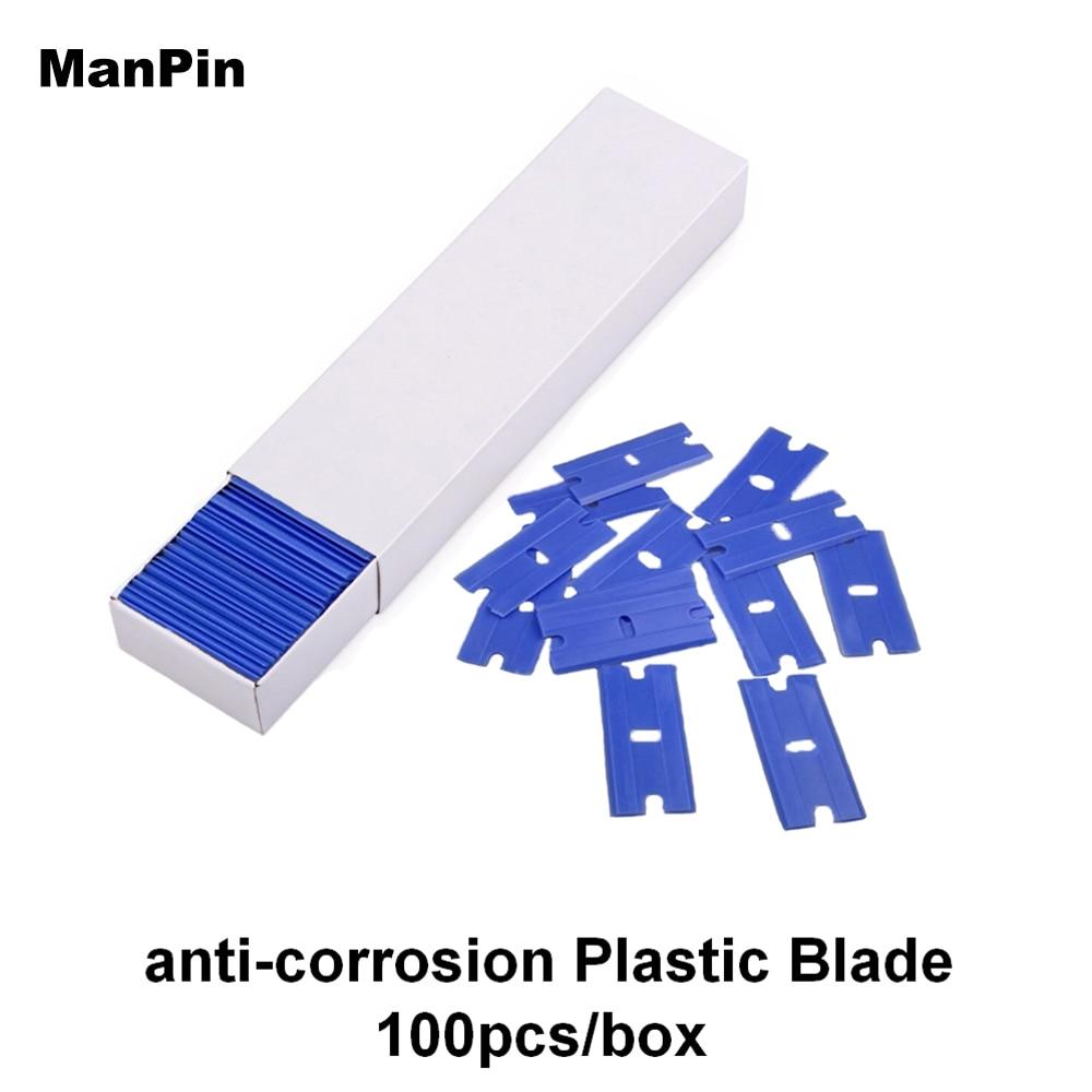 Anticorrosion Plastic Double Side Blade LCD Screen Glue Remove Window Glass Clean Scrape Mobile Phone Repair Tools