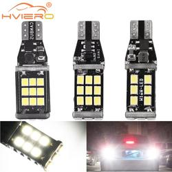 1X T15 921 W16W Car Strobe Light Auto LED Reverse Lights License Plate Light Trunk Lamp Parking Led Tail Bulb Turn Signal Lamp
