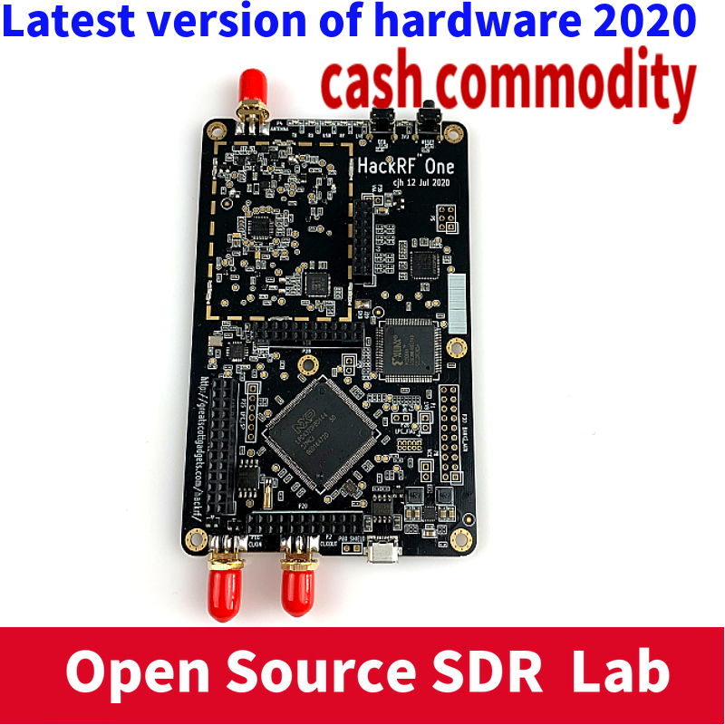 2020 версия оборудования HackRF One SDR программно определяемое радио 1 МГц до 6 ГГц комплект материнской платы