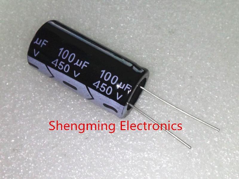 450V Radial Electrolytic 100uF Lot of 10