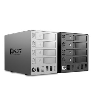 Image 5 - Aluminum 4 bay 3.5 Inch Hard Drive Enclosure, Support 64TB storage USB3.0 UASP, HDD Docking Station Tool Free With four switches
