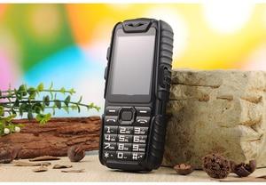 "Image 2 - WaterProof GuoPhone A6 Rugged Power Bank Phone With 2.4"" Shockproof 0.3MP Loud Speaker Flashlight Dual SIM Senior Outdoor Phone"