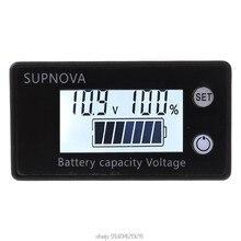 Indicateur de capacité de batterie DC 8V-100V, Lithium acide, plomb, LiFePO4, tension, voltmètre, voiture, moto, 12V, 24V, 48V, 72V, N12, 20