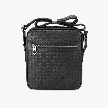 Cowhide Genuine Leather Men's Bag Business Classic Crossbody Bag Advanced Designer Handbags Male Fashion Durable Shoulder Bag
