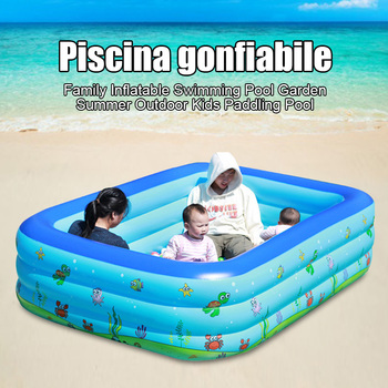 Family Inflatable Swimming Pool Garden Summer Outdoor Kids Paddling Pool SP99