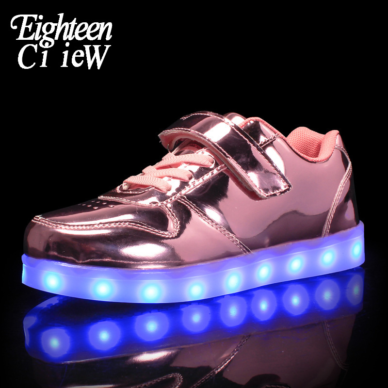 Светящиеся кроссовки для девочек, кроссовки с подсветкой, светящиеся кроссовки, Детские светящиеся кроссовки светодиодные кроссовки с зар...
