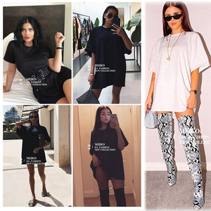 Image 5 - Women T Shirts 10 Colors Oversize 80% Cotton Summer Womens Clothes Short Sleeves tshirt Ladies Clothing Oversized Shirt