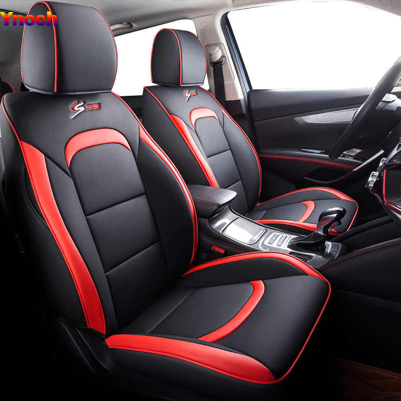 Ynooh автомобильные чехлы для сидений для focus mk1 2 Ranger Mondeo mk4 explorer figo Transit custom fusion 2015 tourneo Подключите Автомобильный протектор