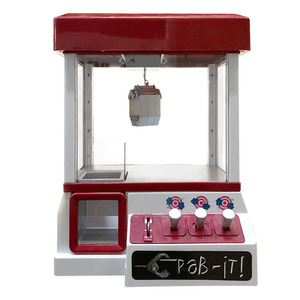 Clip Doll Claw Machine Arcade Coin Operated Game Entertainment Crane Vending Machine Toys Candy Grabber Claw Portable Arcade