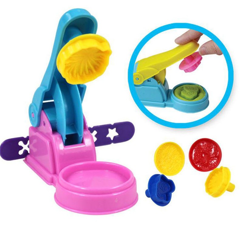 Polymer Clay Tool Kit Children Kids DIY Playdough Modeling Mould Clay Tool Kit Educational Toys Gift Random Color 1Set