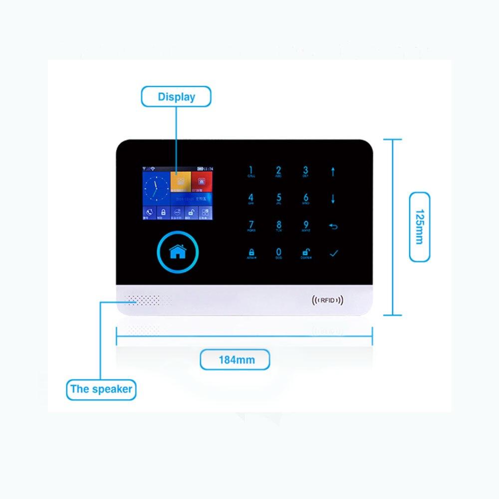 incêndio app controle remoto com telefone em casa