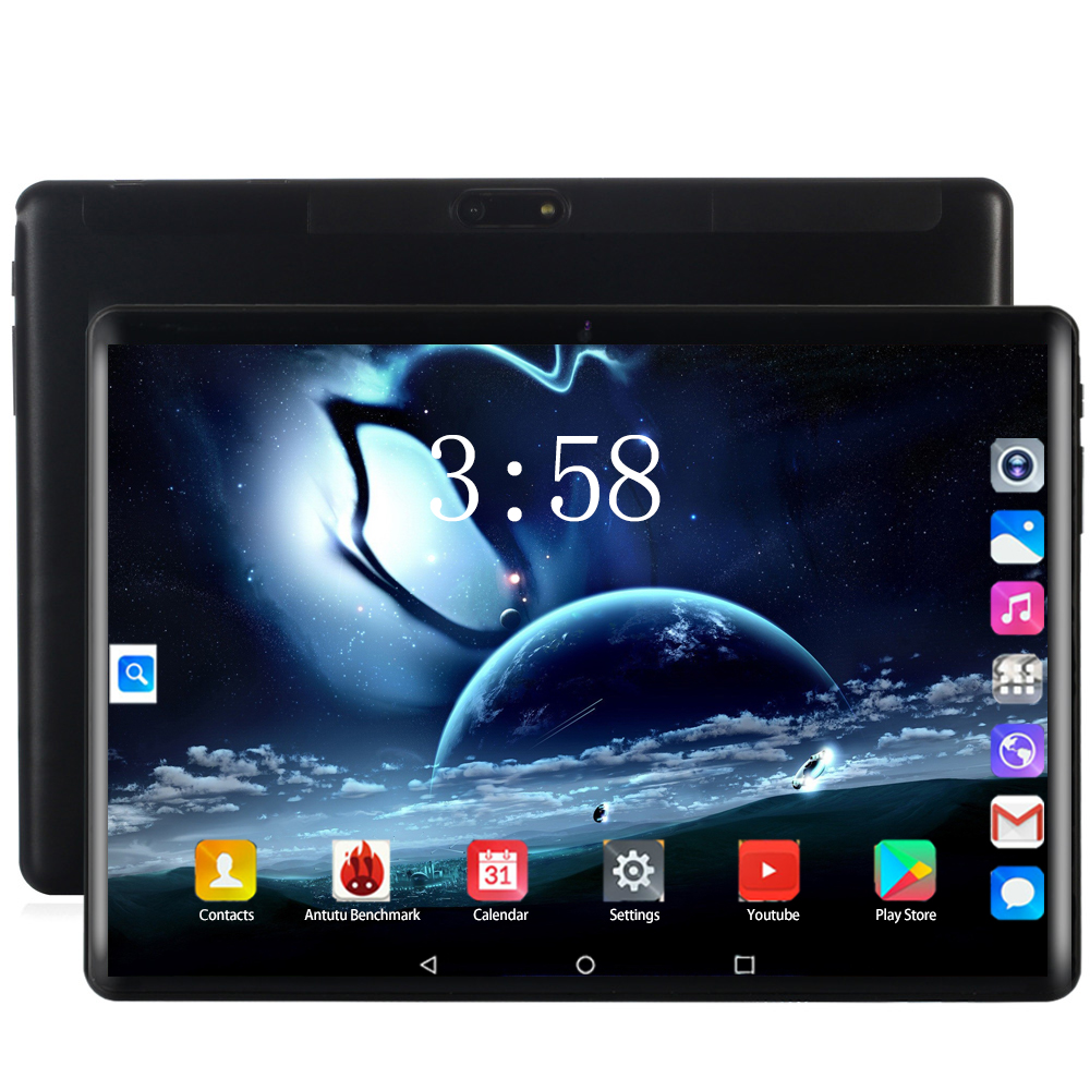 2020 Global 3G 4G LTE 10.1 Inch Tablet PC Android 8.0 Deca Core RAM 6GB ROM 128GB Smart Phone Dual SIM Card WIFI GPS 10