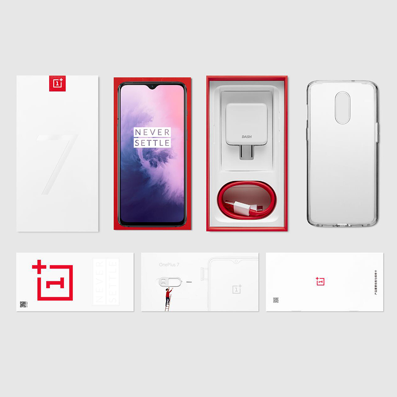 """Image 5 - Global ROM Oneplus 7 8GB 256GB Snapdragon 855 Smartphone Octa Core 6.41"""" AMOLED 48MP+16MP Rear Cam NFC-in Cellphones from Cellphones & Telecommunications"""