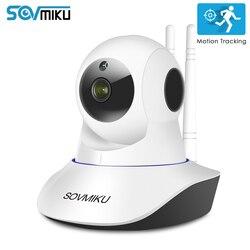 واي فاي CCTV 1080P 720P IP كاميرا لاسلكية مراقبة الطفل أمن الوطن الأشعة تحت الحمراء للرؤية الليلية فيديو مراقبة السيارات تتبع الكاميرا