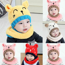 Cute Baby Hats Childs Toddlers Kids Boys Girls Knitted