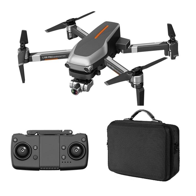 RC Drone 5G L109-PRO GPS 4K Camera WIFI FPV Brushless Motor Foldable Selfie Drones drone 4k gps