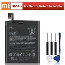 Original Xiao Mi Replacement Battery BM46 For Xiaomi Redmi Note 3 Hongmi Redrice Note3 Note3 Pro Authentic Phone Battery 4050mAh original bm46 battery for xiaomi redmi note 3 phone high quality replacement batteries 4050mah