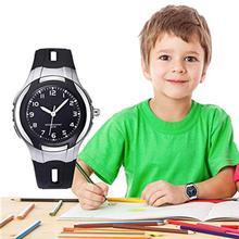 2019 Fashion Round Dial Kid Boy Girl Student Waterproof Quartz Jelly Wrist Watch Gift Children Cute Clock Reloj Relogio Montre H