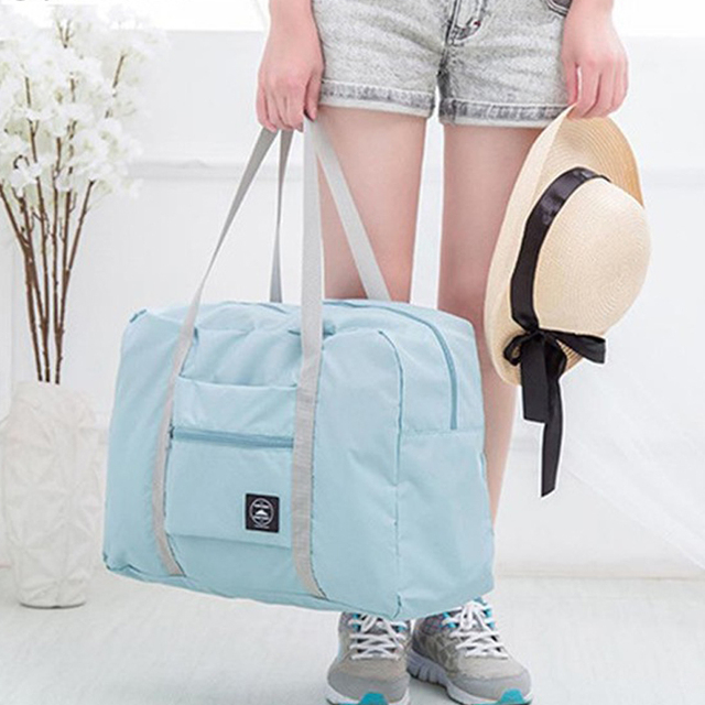 Waterproof Travel Bag Unisex Foldable Duffle Bag Organizers Large Capacity Packing Cubes Portable Luggage Bag Travel Accessories 3