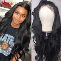 Peluca de pelo ondulado brasileño para mujeres negras, peluca con malla Frontal prearrancada, pelo Remy, peluca de pelo Natural 13x4, cabello humano con encaje Frontal