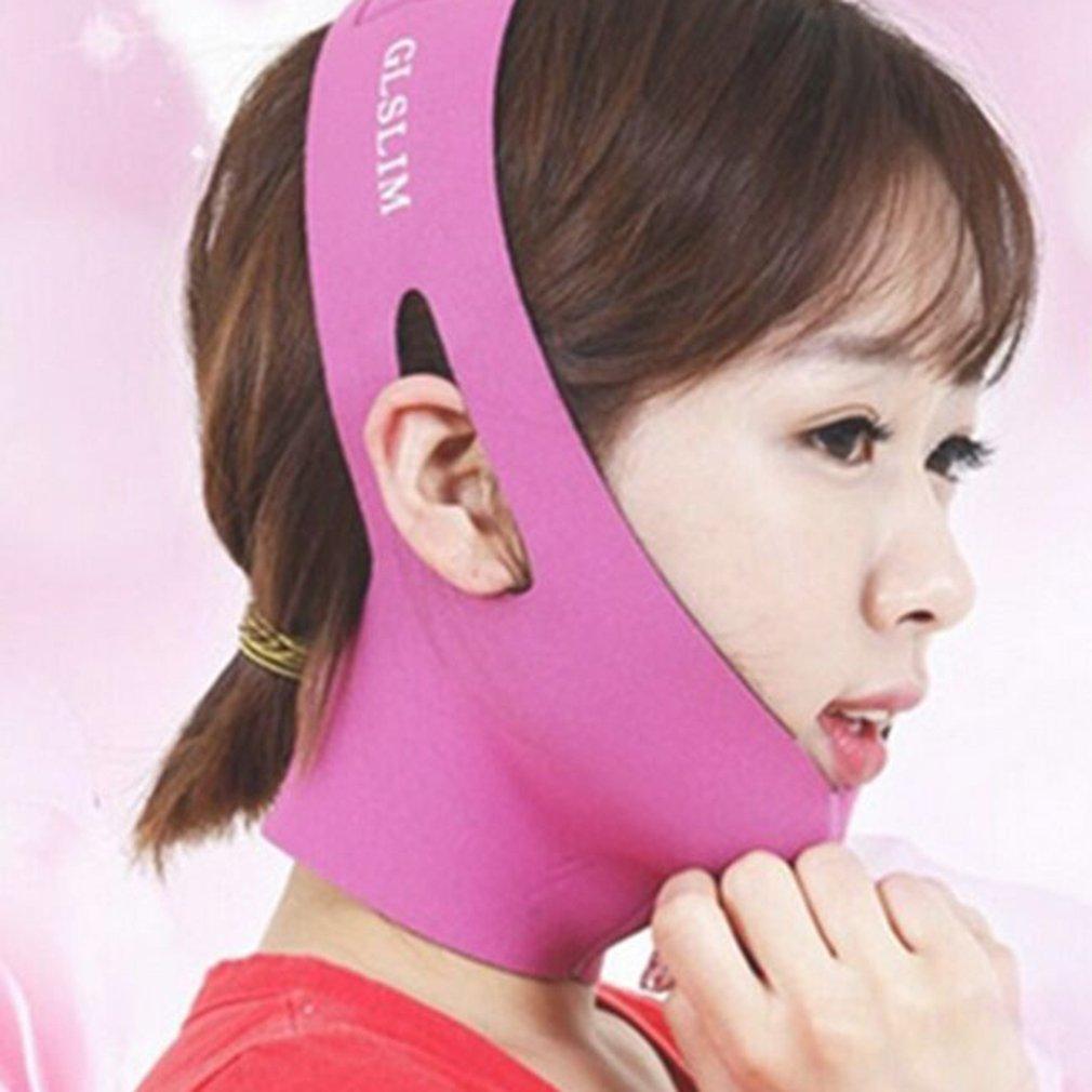 Двойной для лица и подбородка стройнящая повязка лифтинг маска