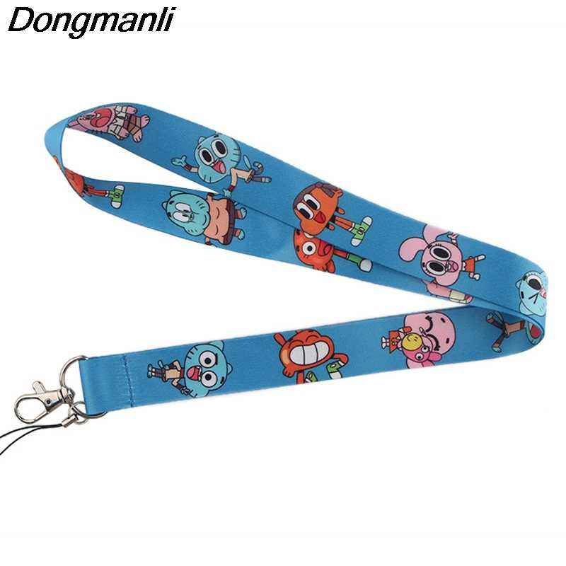 P4023 Dongmanli Anime Portachiavi Id Badge Holder Keychain Id Pass Palestra Mobile Badge Holder Chiave Del Supporto