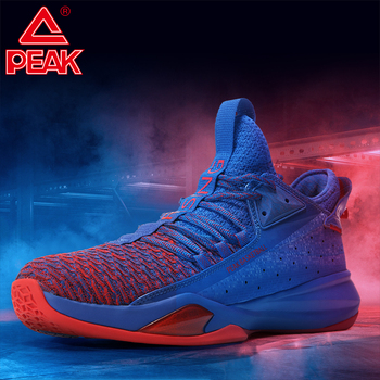 PEAK Speed Shadow Men Basketball Shoes New Cushioning Support Breathable Sneakers Durable Non-slip Outdoor Training Sports Shoes