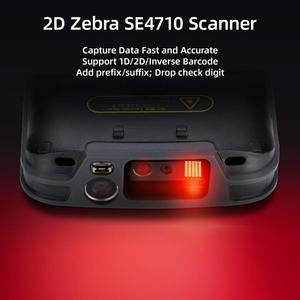 Image 5 - PDA Scanner Handheld Android 8.1 POS Terminal barcode Scanner 2D 4G WiFi Zebra  Bar code Reader 8000mAh Battery Data Collector