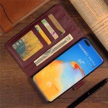 Case For Huawei P40 Pro Nova 7i Mate 30 Pro Honor 20 Pro P30 lite Y9 Y5 2019 P20 P10 lite Mate20 Flip Wallet Leather Phone Cases soft black tpu phone cases for huawei honor 8x max 8c nova 3 3i mate 20 lite pro x rs p20 lite plus y9 2019 case