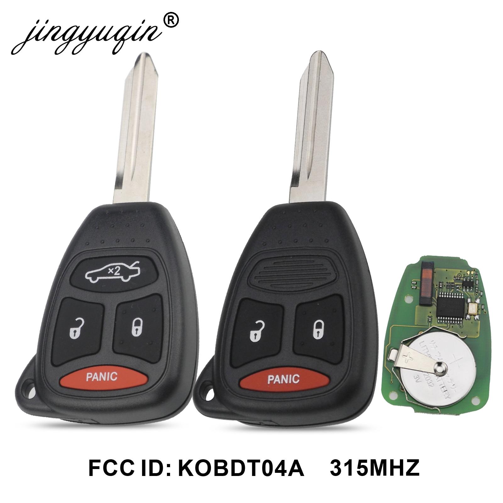 New 2007-2011 Dodge Ram Durango Dakota 4 Button Remote Key