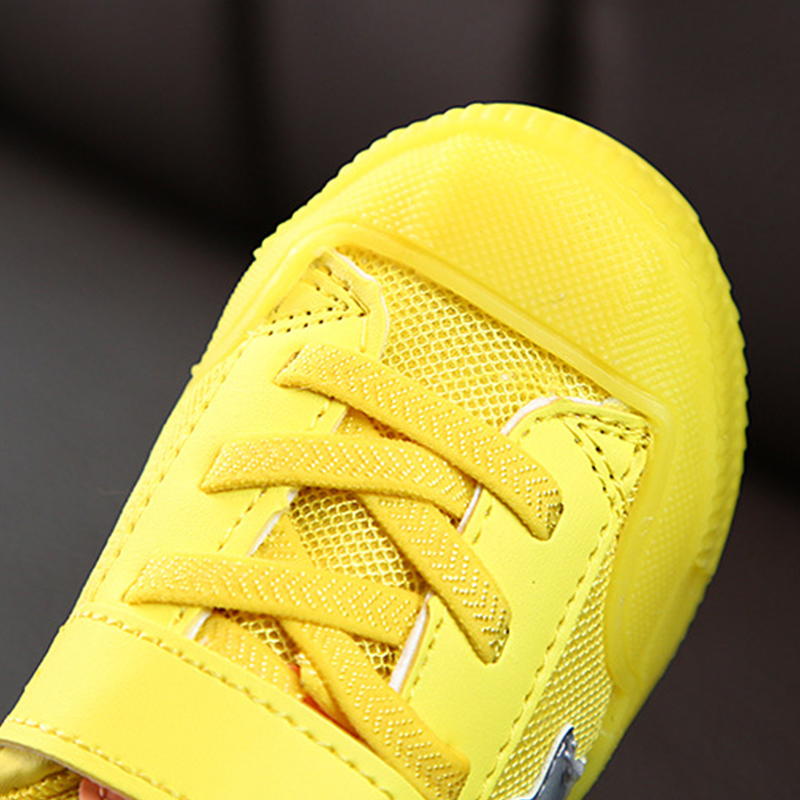 Super explosion Toddler Boys Running Sneakers Hook and Loop Girls Light Weight Sport Shoes