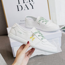 Xiaobai shoes female 2021 new versatile summer breathable flat shoes casual low top shoes female Butterfly