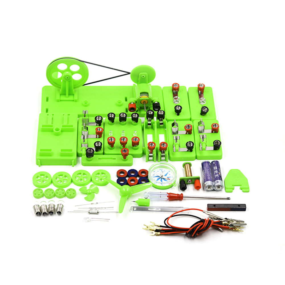 Basic Circuit Electricity Magnetism Learning Kit Physics Aids Kids Education Toy Blocks Kit Funny Toy Physics Development Toy
