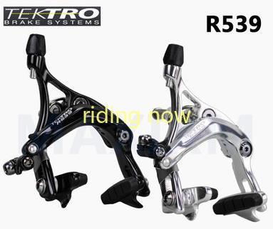 Tektro R539 frein vélo de route vélo étrier V frein bras longs verrouillage de sécurité à dégagement rapide